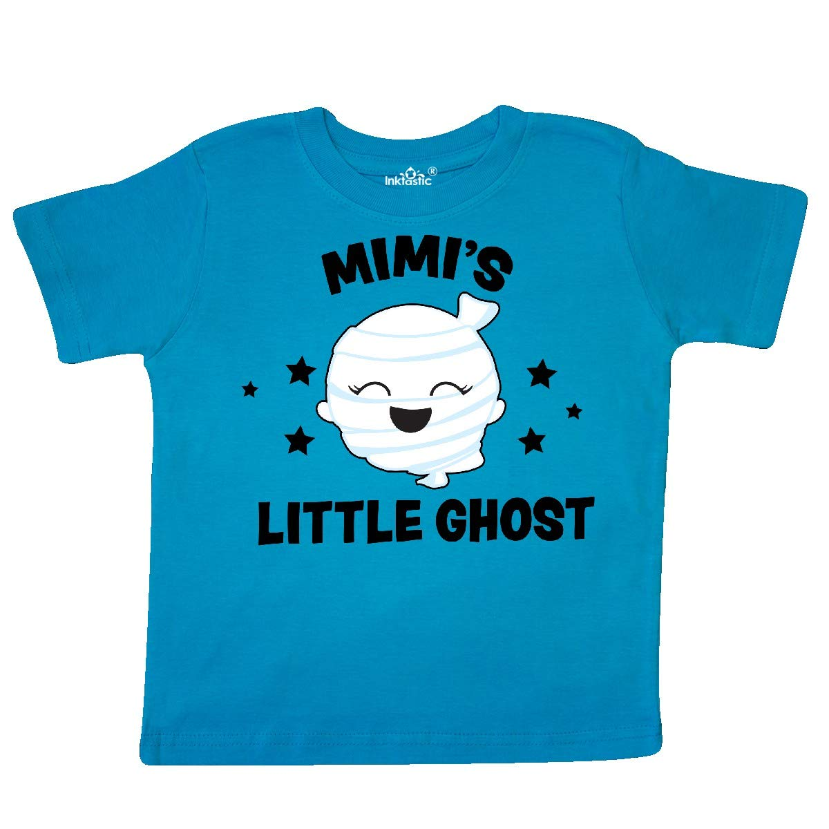 inktastic Cute Mimis Little Ghost with Stars Toddler T-Shirt