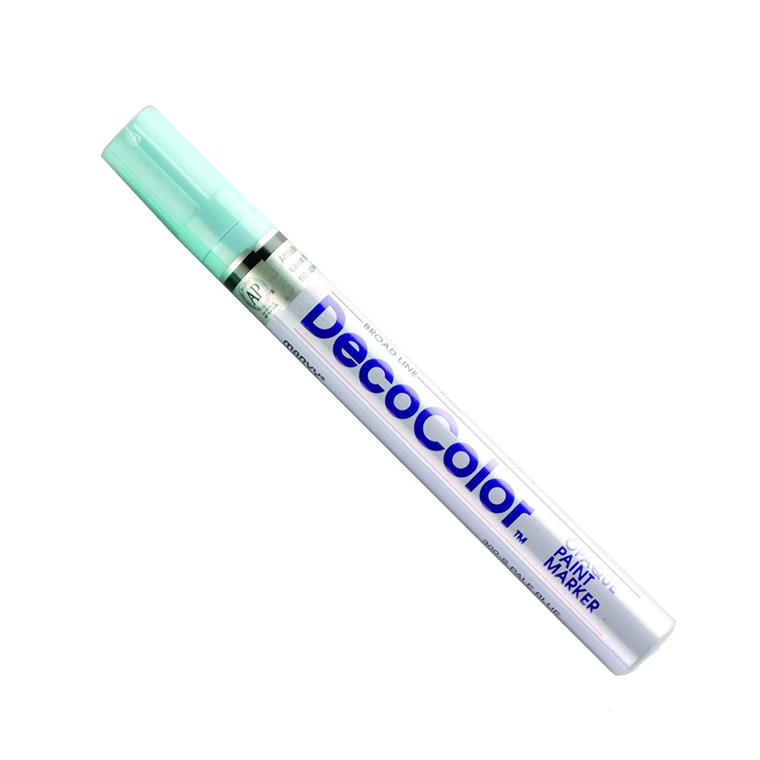 Uchida 300-C-0 Marvy Deco Color Broad Point Paint Marker, White Uchida of America Corp