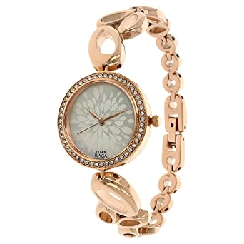 0465044c93c Buy Titan Raga Analog Mother of Pearl Dial Women s Watch -NK2539WM01 ...