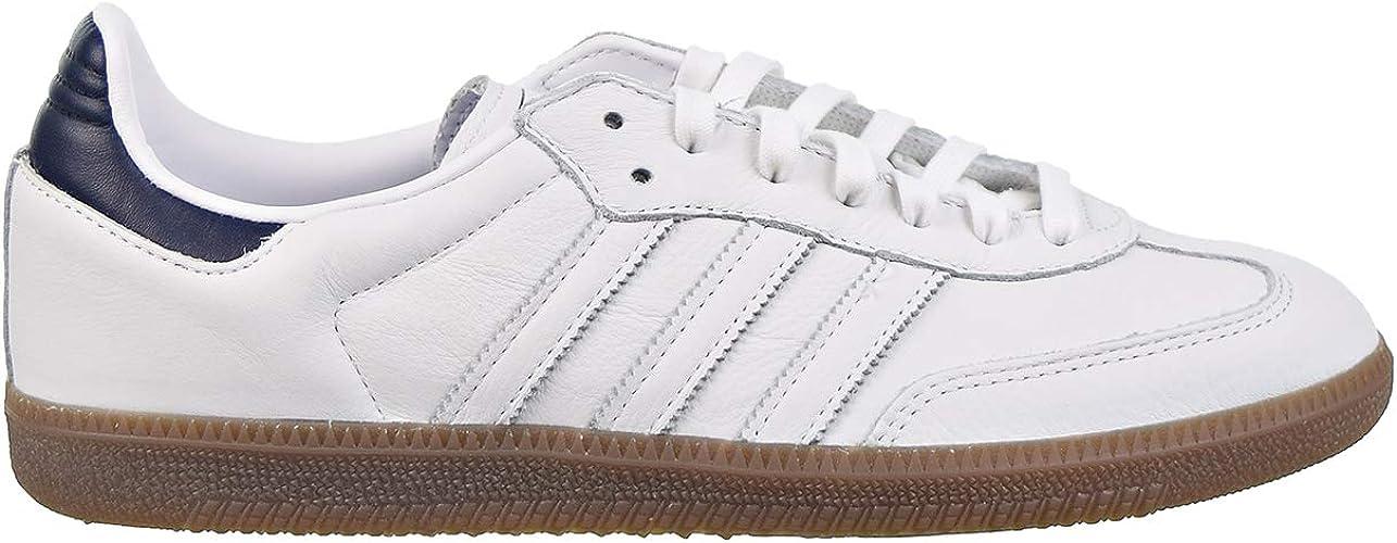 Adidas Samba OG D96782 Chaussures pour homme Blancbleu