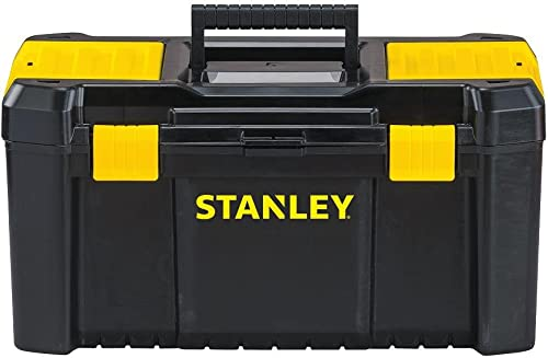 Stanley Tools and Consumer Storage STST19331 Stanley Essential Toolbox, 19 , Black Yellow