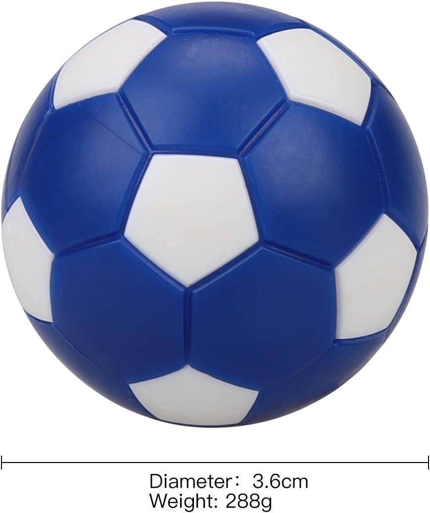 12 Pack pelotas de repuesto para mesa de futbolín de fútbol, Mini Colorful fútbol 36 mm pelotas de futbolín de mesa para tu mesa Futbolín juegos: Amazon.es: Deportes y aire libre