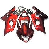 XX eCommerce Candy Green w//Black Injection Fairing Kit for 2004-2005 Suzuki GSXR 600 GSXR 750 GSX-R 600 750