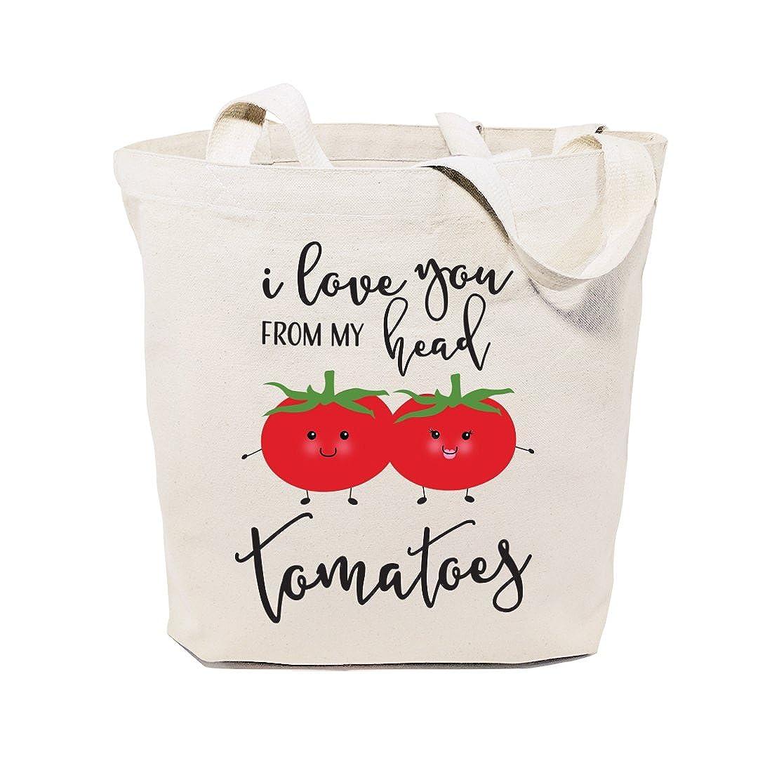 驚きの値段 The Cotton & Tomatoes Canvas Co. レディース Head B01N9V9LXY The I Love You from My Head Tomatoes I Love You from My Head Tomatoes, 元祖まな板本舗:3940bfbe --- 4x4.lt