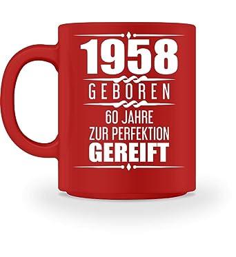 Shirtee Lustige Geschenkidee 60 Geburtstag Geschenk 60 Jahre 1958