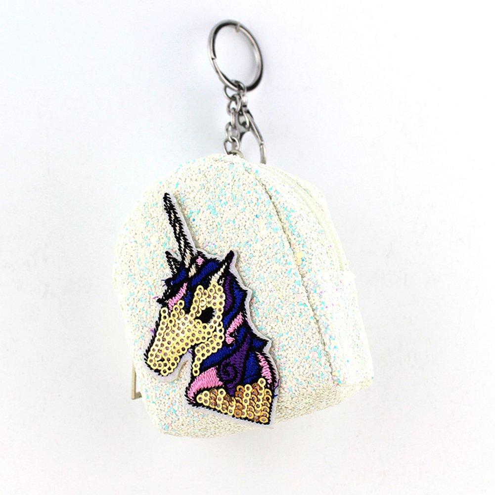 Amazon.com : Fashionwu Fashion Creative Sequins Unicorn ...