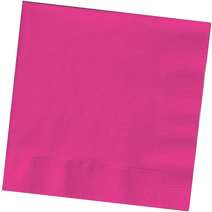 Top 10 Hot Magenta Beverage Napkin