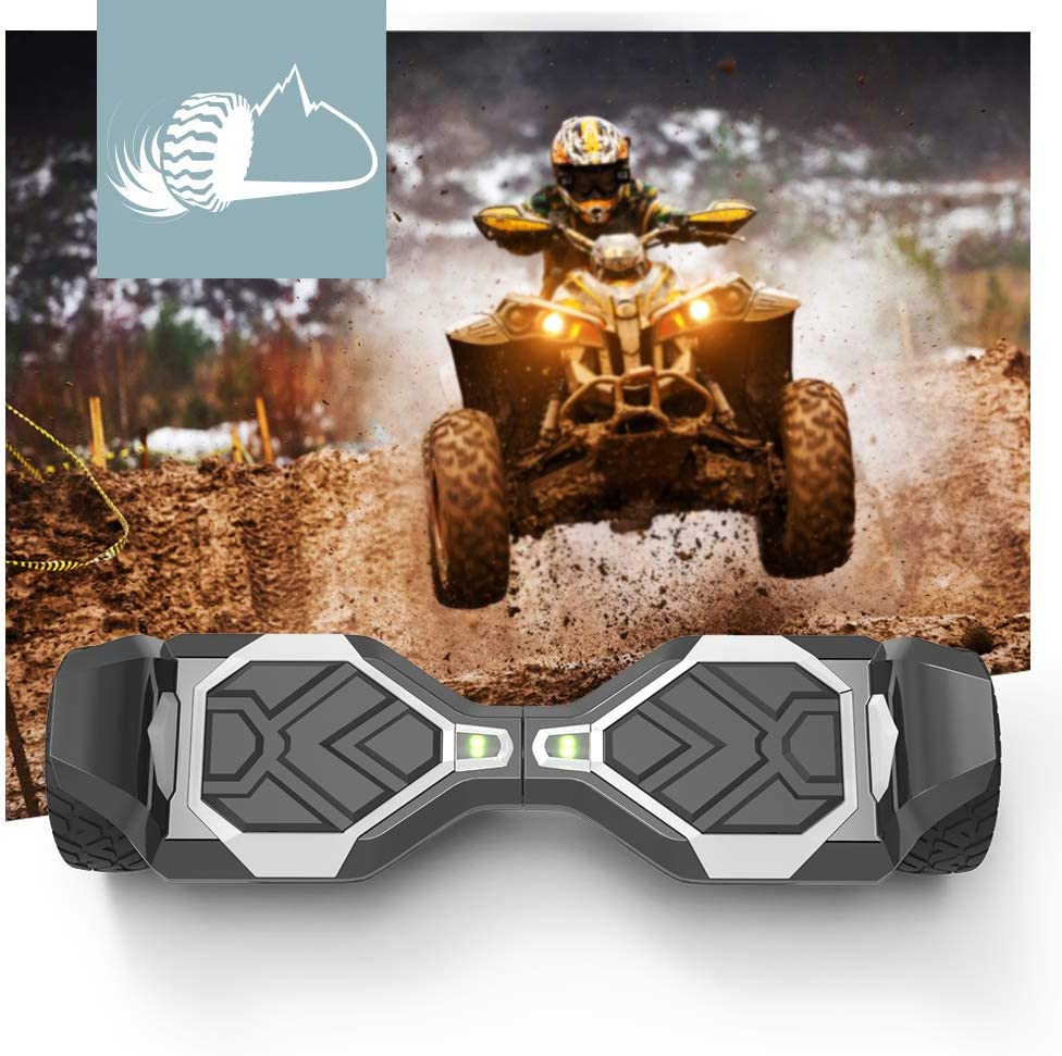 Hoverboard Two-Wheel Self Balancing Electric Scooter 8 Hummer Auto Self Balancing Wheel Electric Scooter with Built-in Bluetooth Speaker UL 2272 Certified