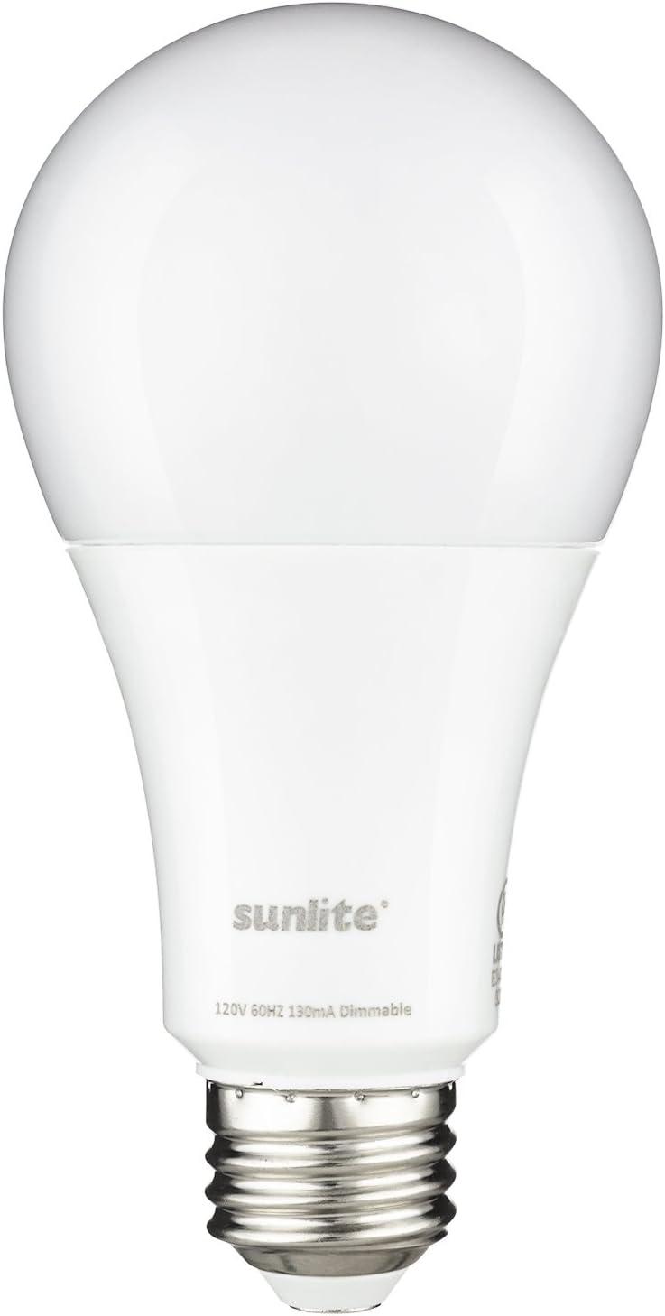 Sunlite 80803-SU LED A21 Super Bright Light Bulb 1600 Lumens, 15 Watt (100W Equivalent), Dimmable, Medium Base (E26), UL Listed, Energy Star, 1 Pack, 30K - Warm White