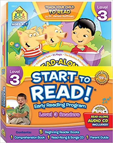Start to Read! Level 3 Early Reading Program 6-Book Set