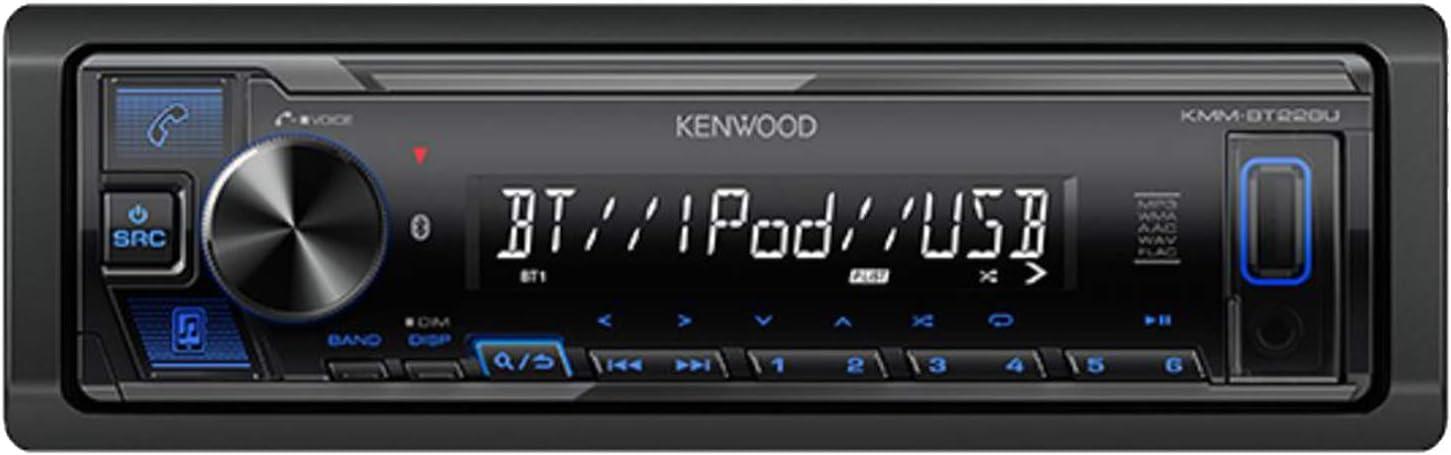 Kenwood KMM-BT228U Digital Media Receiver (Does not Play CDs)