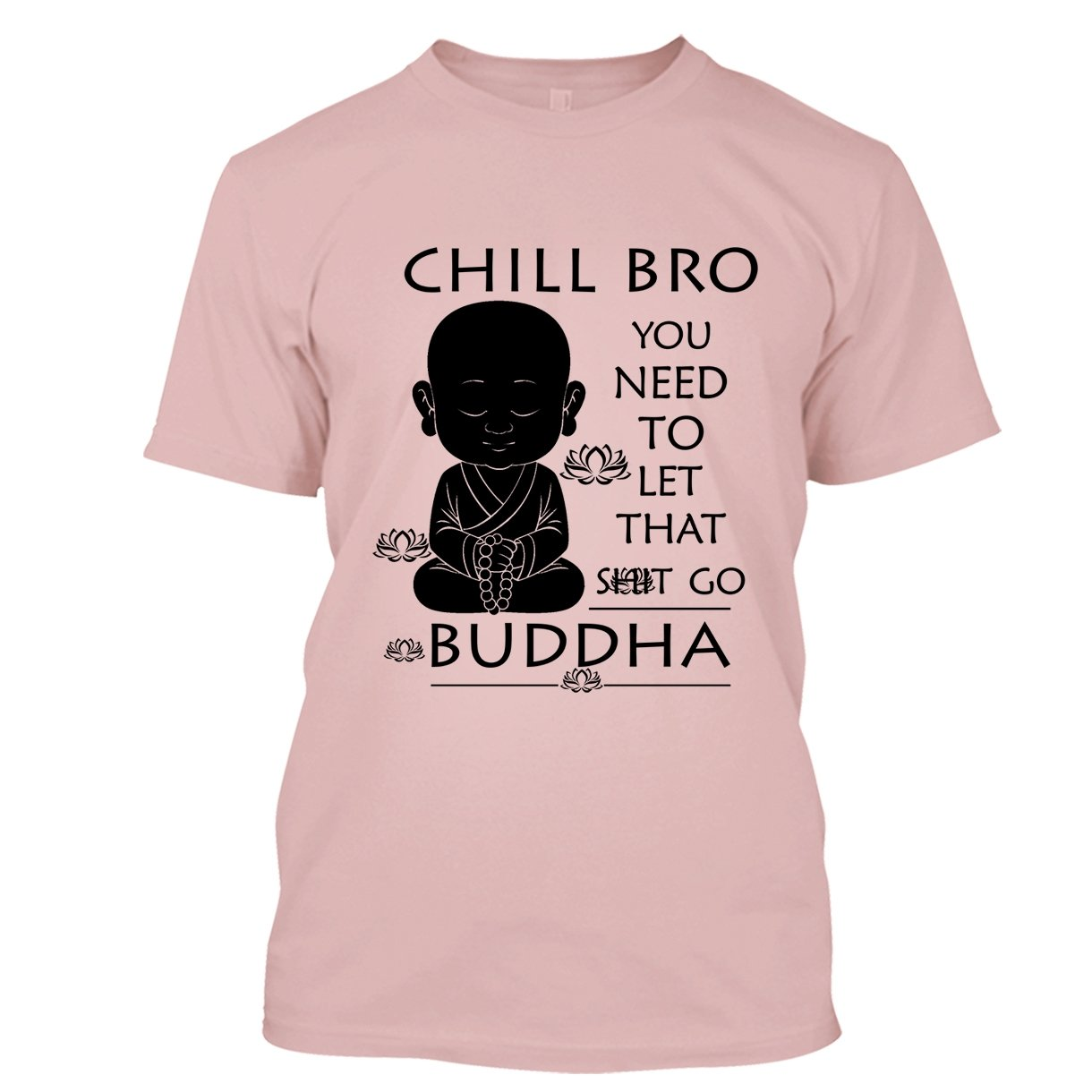 e13cfc19a Amazon.com: BigTees Buddha T Shirt - Chill Bro Cool T Shirts Design:  Clothing