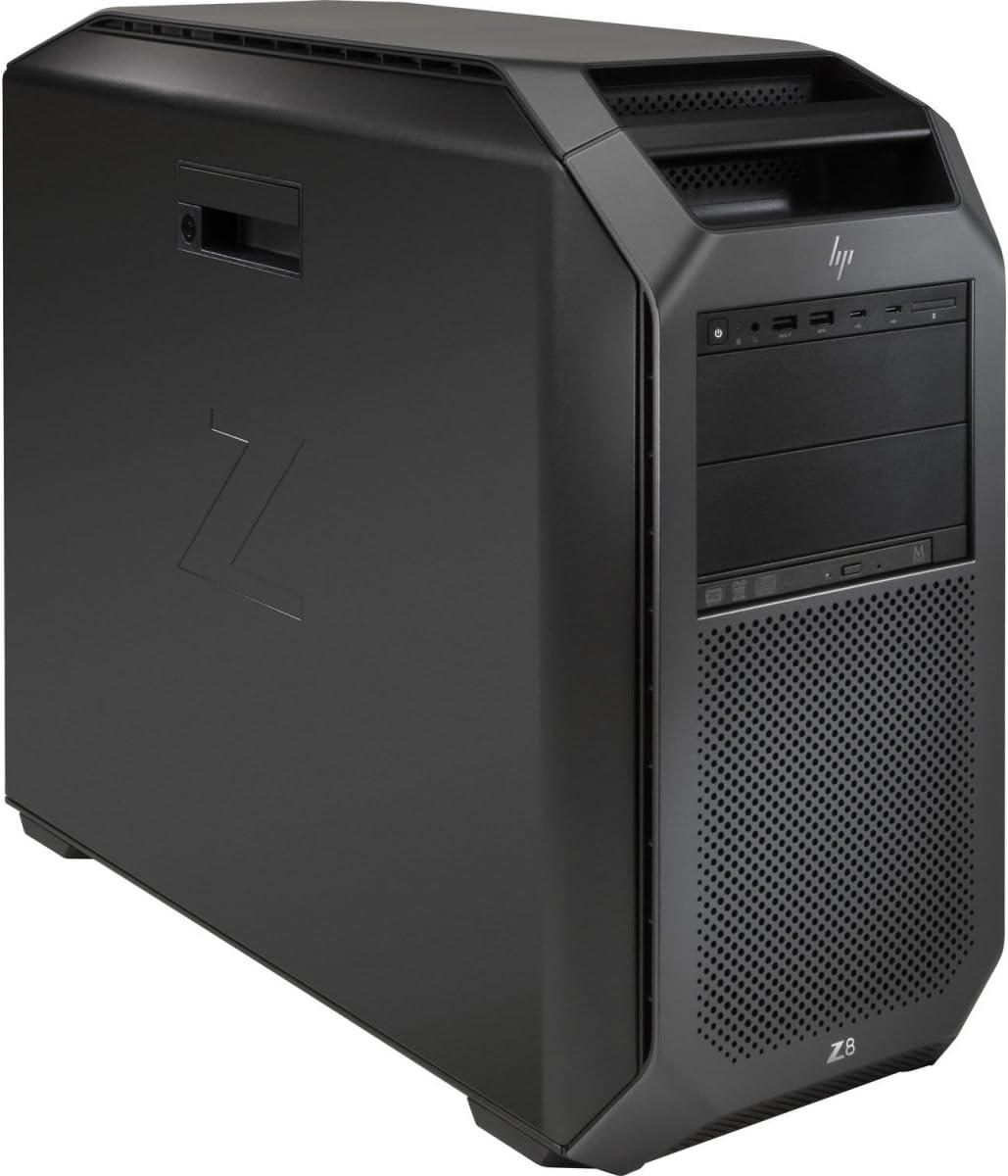 HP 1WU28UT Workstation Z8 G4 - MT - 5U - 1 x Xeon Silver 4108/1.8 GHz - RAM 8 GB - HDD 1 TB - DVD-Writer - no Graphics - GigE