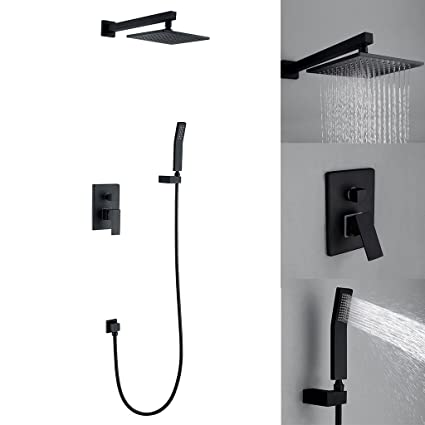 Wall Mounted Shower Faucet Set with 8\