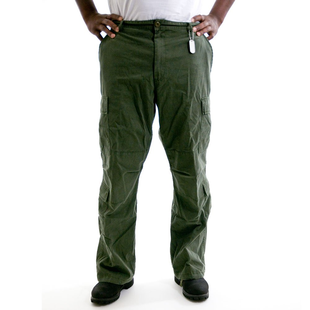 Rothco Vintage Paratrooper Fatigues, Olive Drab, X-Large 2786XLRG 2786-XL