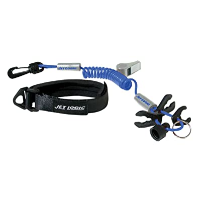 ULTIMATE LANYARD, Blue / Silver, for PWCs: Clothing