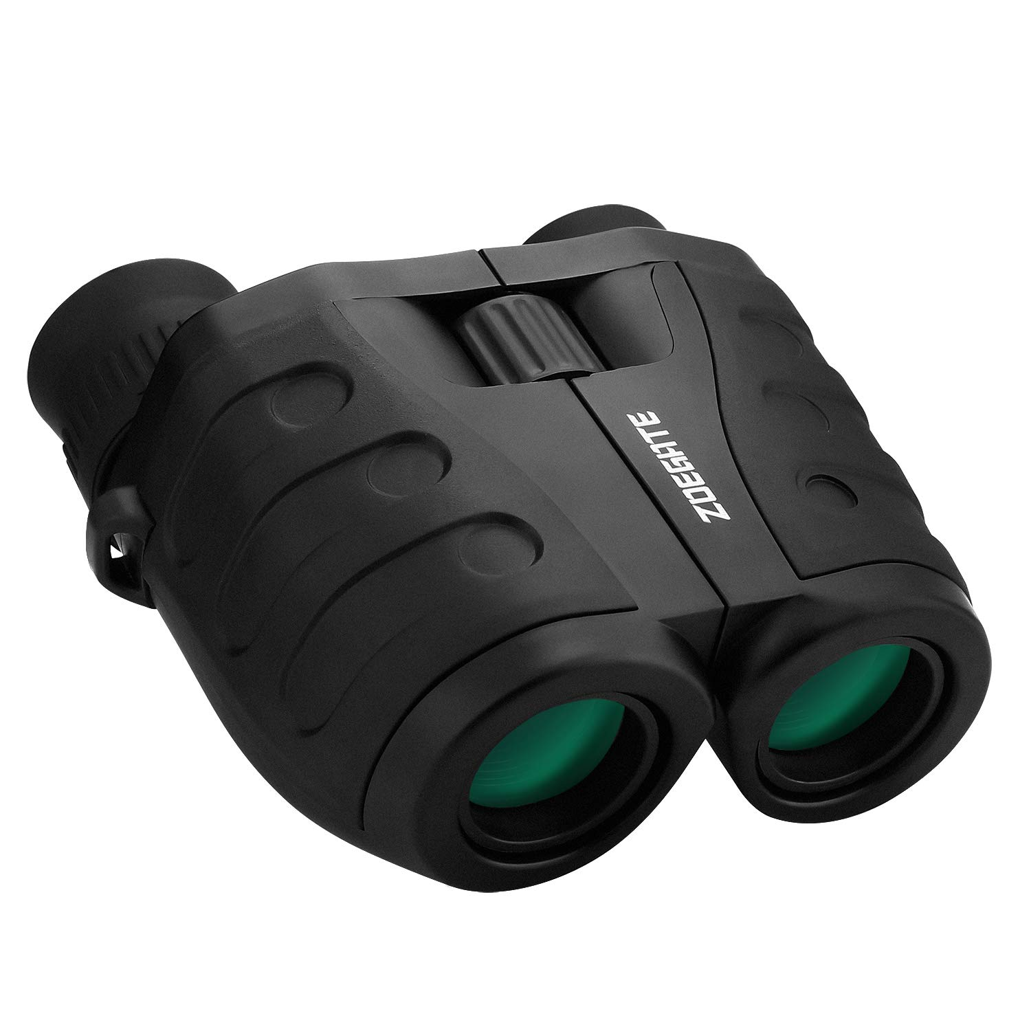 10x25 Binoculars, Speedsporting Mini Compact Folding Binoculars with Powerful Folding Waterproof Telescope with Cleaning Cloth and Carry Case for Outdoor Hiking,Shooting, Travelling, Sightseeing, Hunting, Bird Watching,Concerts
