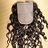 Virgin Brazilian Remy Hair Silk Top Lace Closures Cruly (4'x4') Grade AAA