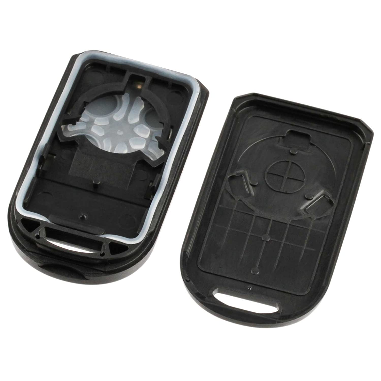 Set of 2 USARemote Key Fob Keyless Entry Remote Shell Case /& Pad fits Honda Odyssey 2005 2006 2007 2008 2009 2010