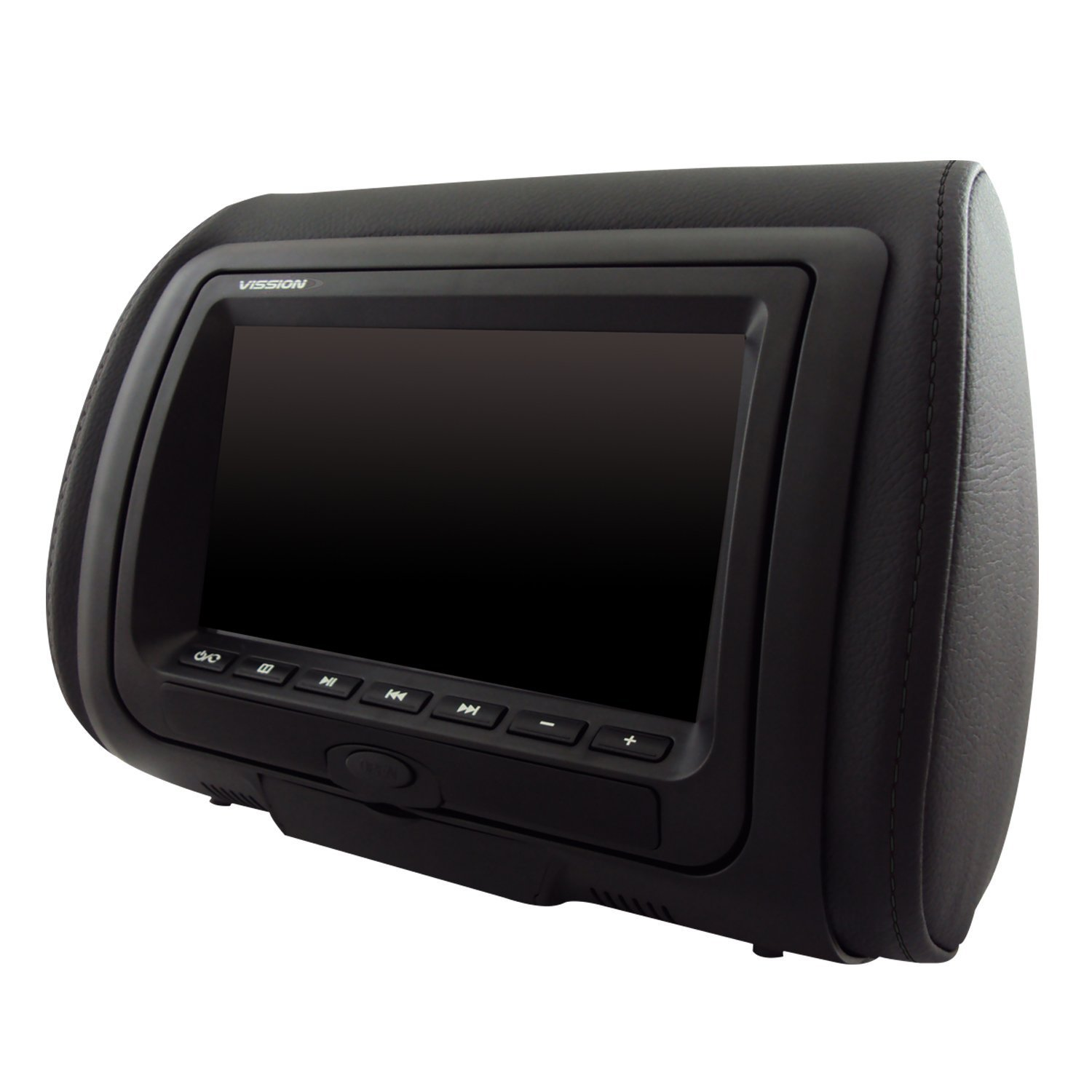 7'' High Definition LED Dual Headrest with DVD/USB/SD and Video Game Entertainment System Vission AM-HDS7 - PAIR