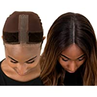 Nude And Black Womens Stretchy Headcover For Wigs