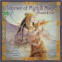 Best New Fantasy Books 2021 Amazon.com: Women of Myth & Magic 2021 Fantasy Art Wall Calendar