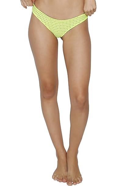 978a359eb6 ACACIA Swimwear Ho'okipa Mesh Bottom In Neon Cactus Mesh: Amazon.ca:  Clothing & Accessories
