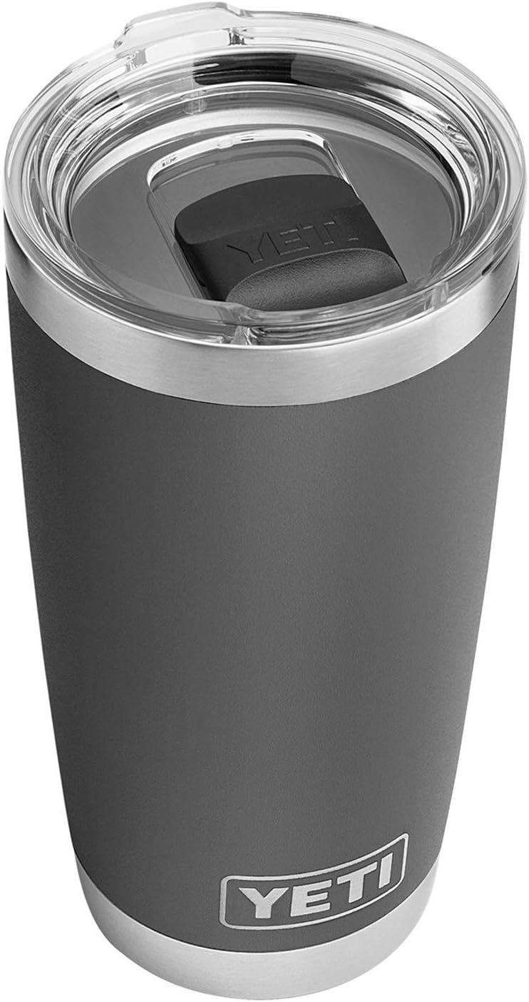 YETI Rambler 20 oz Stainless Steel Vacuum Insulated Tumbler w/MagSlider Lid