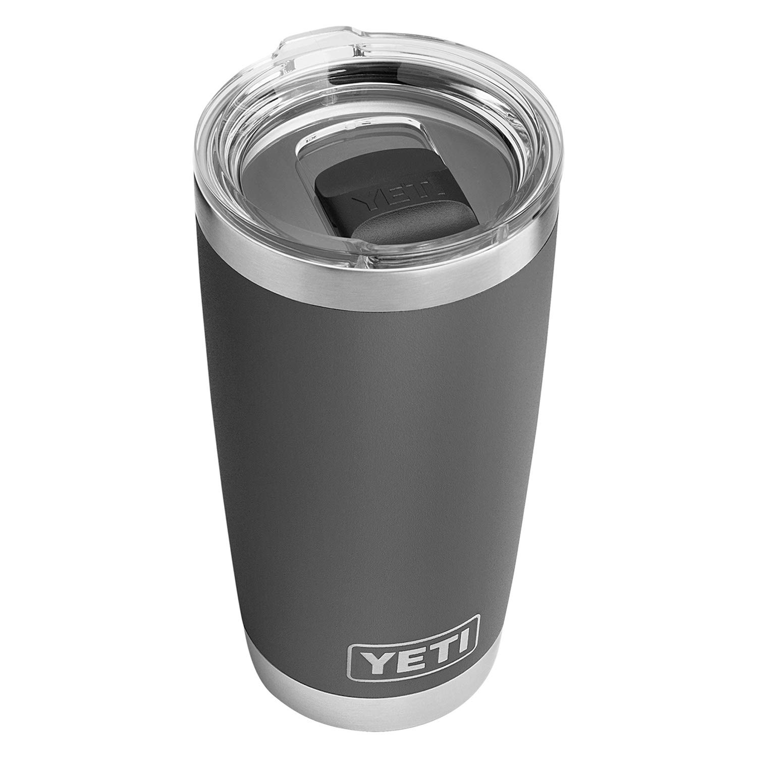 697ddae025 YETI Rambler 20 oz Stainless Steel Vacuum Insulated Tumbler w/MagSlider  Lid, Charcoal