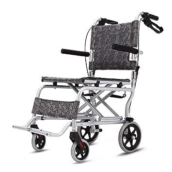 Sillas de ruedas Plegable Manual Ancianos discapacitados Pacientes: Amazon.es: Hogar