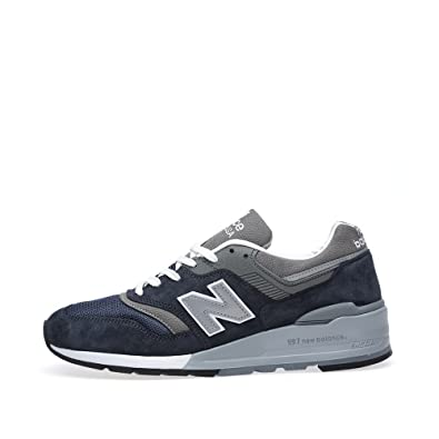 82a2607c9f Amazon.com | New Balance 997 Men Sneakers Made in USA Grey/White ...
