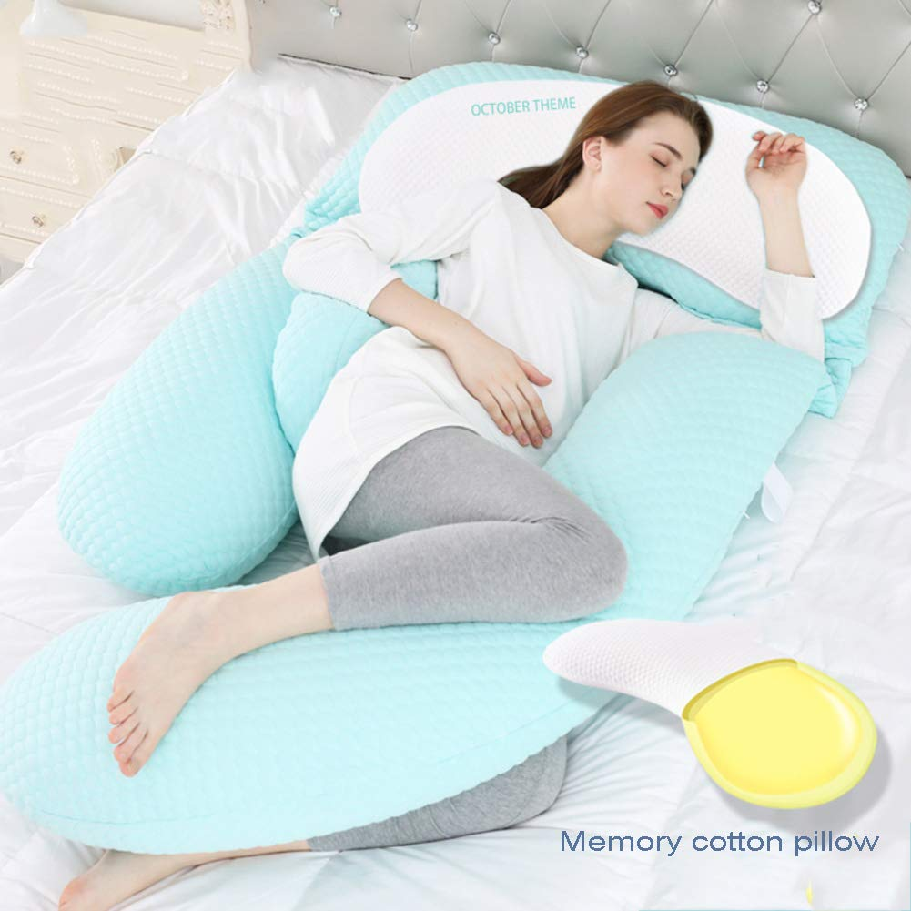 Full Body Pillow For Back Pain.Amazon Com U Shape Memory Foam Pregnancy Pillow Waist Side