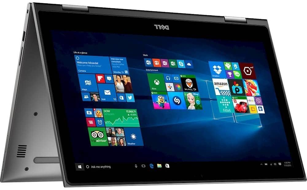 """Dell Inspiron 15.6"""" 2 in 1 FHD IPS Touchscreen Gaming Business Laptop/Tablet, Intel Quad-Core i7-8550U 16GB DDR4 512GB SSD Backlit Keyboard MaxxAudio WLAN HDMI USB Type-C Win 10"""