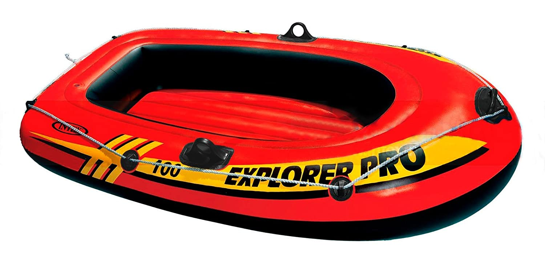 Intex - Barca hinchable Intex explorer pro 100 - 160x94x29 cm - 58355NP K19778