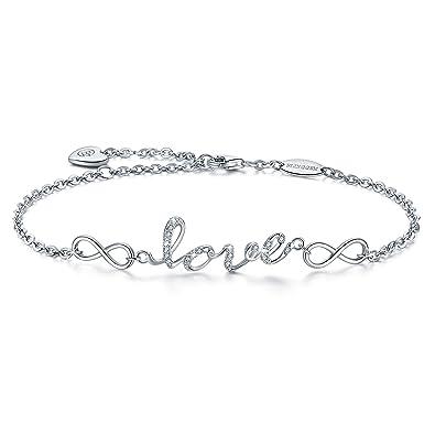 Bracelet pour femme avec inscription