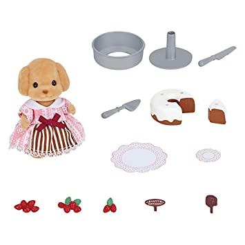 Sylvanian Families Doll Playsets - Cake Decorating Set  sc 1 st  Amazon UK & Sylvanian Families Doll Playsets - Cake Decorating Set: Amazon.co ...