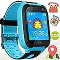 2019 Kid Smart Watch Phone GPS Tracker for Girl Boy Sport Wrist Watch SOS Game Camera Flashlight Anti-Lost Smartwatch