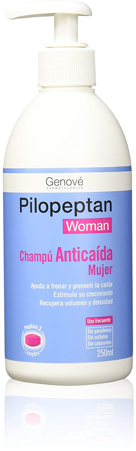 PILOPEPTAN WOMAN CHAMPU ANTICAIDA 200 ML: Amazon.es: Salud y cuidado personal