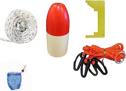 longe corde, CLIPPER, Harnais, Appât Cage /& Float Kufa crabbing Kit d/'accessoires CES-3