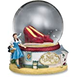 THE SAN FRANCISCO MUSIC BOX COMPANY The Wizard of Oz Ruby Slippers Water Globe
