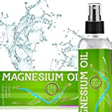 Pure Magnesium Oil Spray - Maximum Magnesium Per Oz - Undiluted USP Grade (NO impurities) Supplement From Ancient USA Minerals Well - For Sleep Anxiety Migraine Muscle Pain Restless Legs