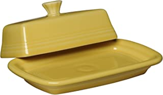 product image for Fiesta Covered Butter Dish, X-Large, Sunflower