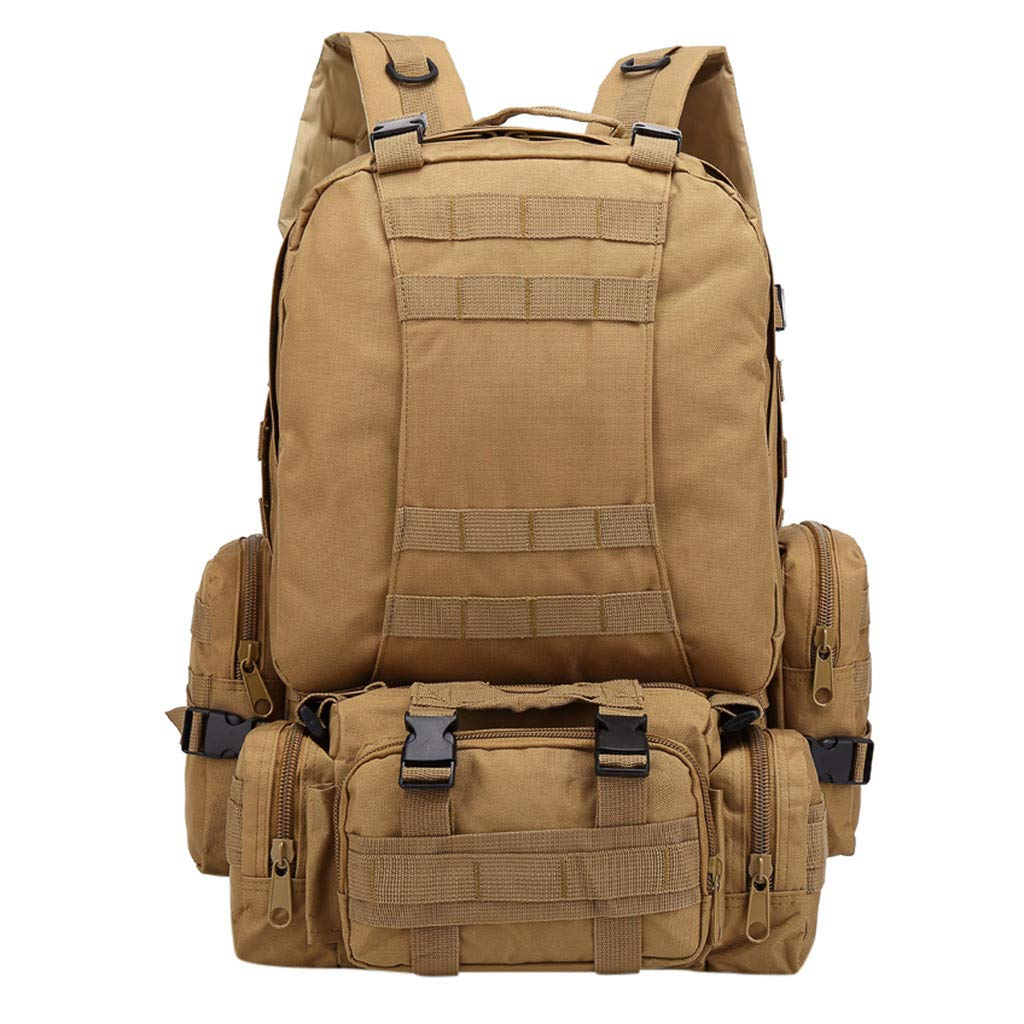 Backpack For School,Yezijin Men Multi-Function Mountaineering Bag Outdoor Camouflage Backpack for Middle High School College Teenage Girls Boys Children Large Lightweight by Yezijin School Supplies