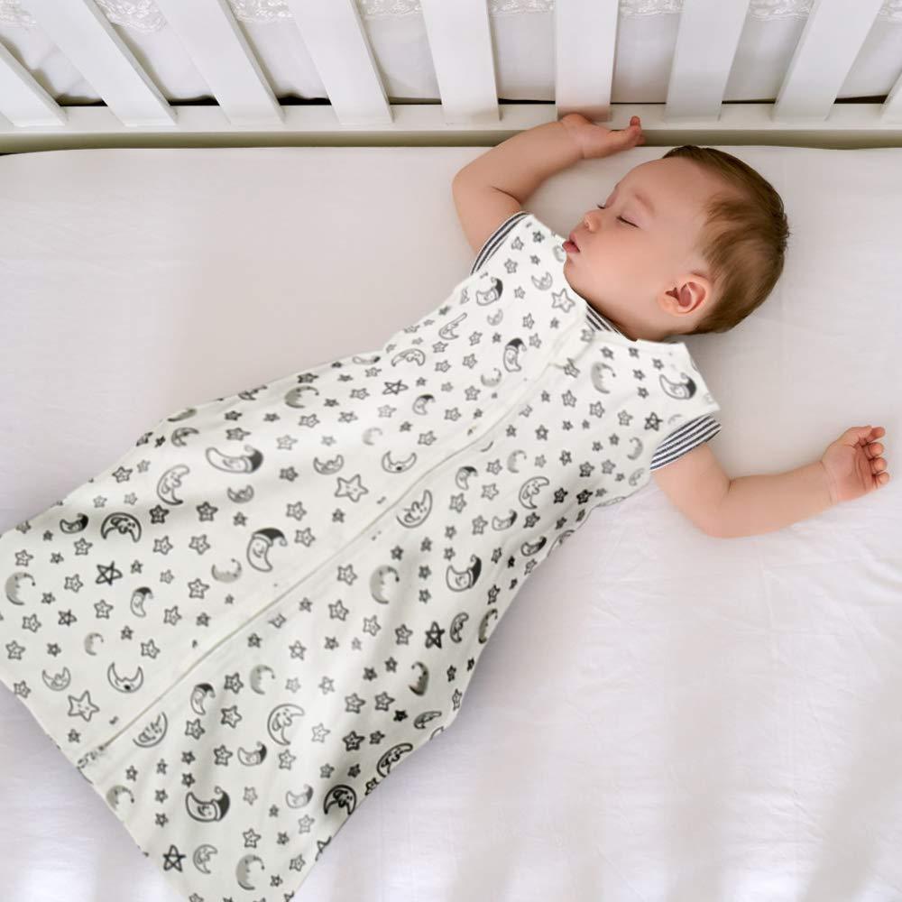 18-36 Monate Baby Schlafsack BabySchlafs/äcke aus Atmungsaktiver Baumwolle leichter Schlafsack Einstellbar f/ür Gr/ö/ße:90-110cm f/ür 18-36 Monate f/ür Neugeborene