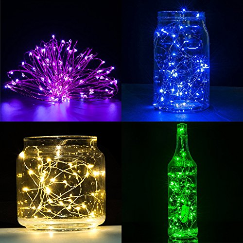 String Lights Za : 6 PCS Fairy String Lights SENHAI 7.2ft 20 Leds Wire Battery - Import It All