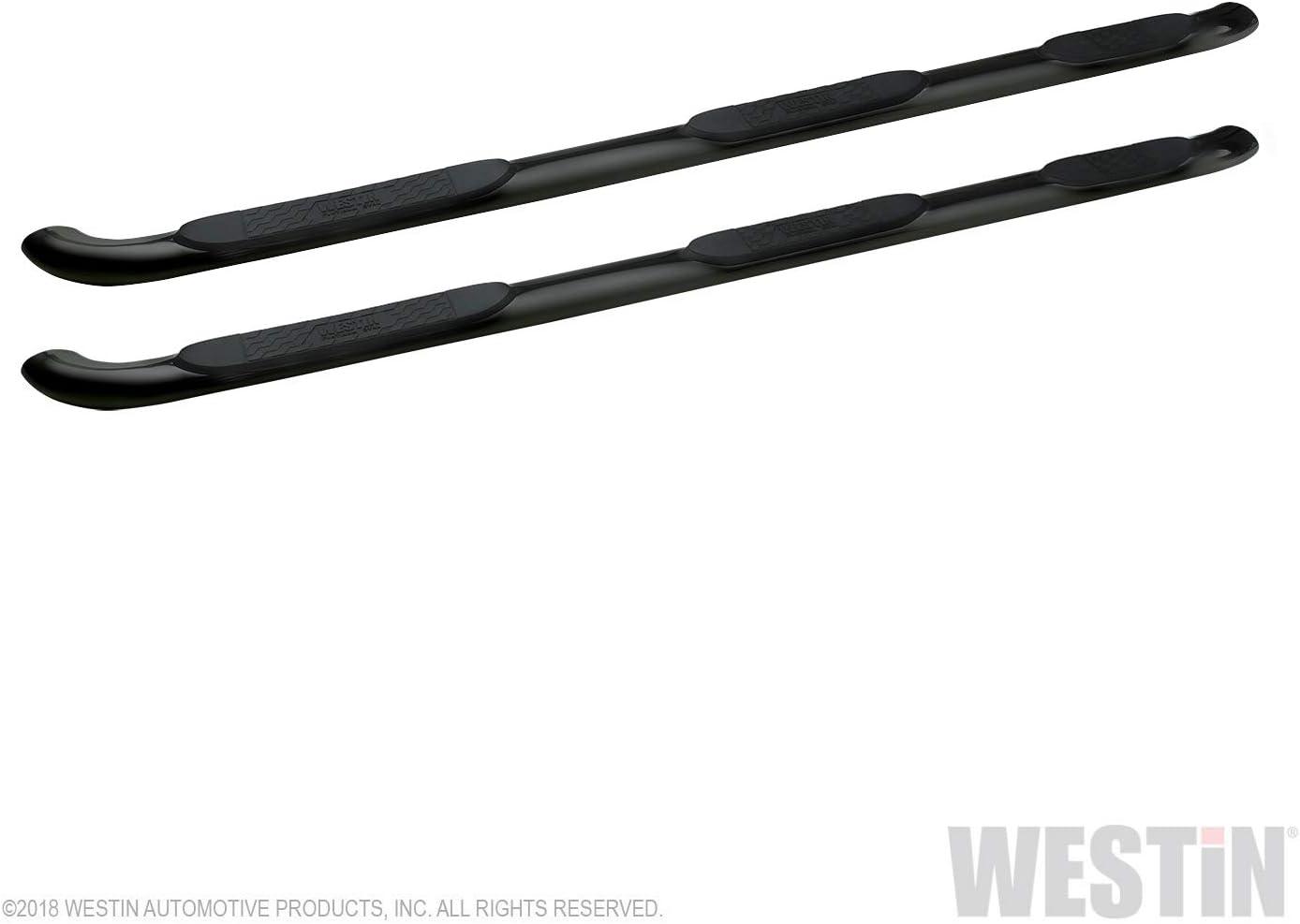 Westin 24-54585 Black 4 Platinum Oval Wheel-to-Wheel Step Bar