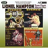 3 Classic Albums Plus - Lionel Hampton - Hamp's Big Band / Plays Drums Vibes Piano