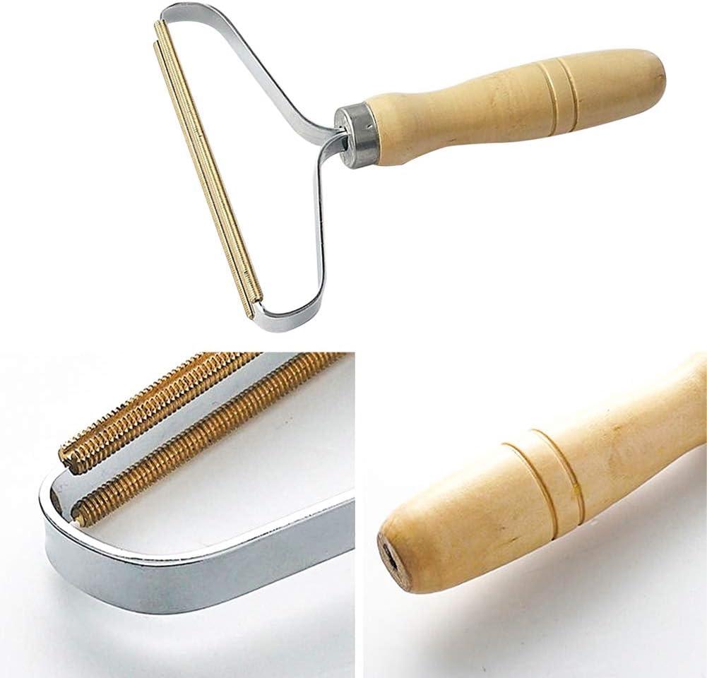 Honsin Portable Clothes Lint Remover Manual Brush Scratch Cut Tool Shaver f FM#