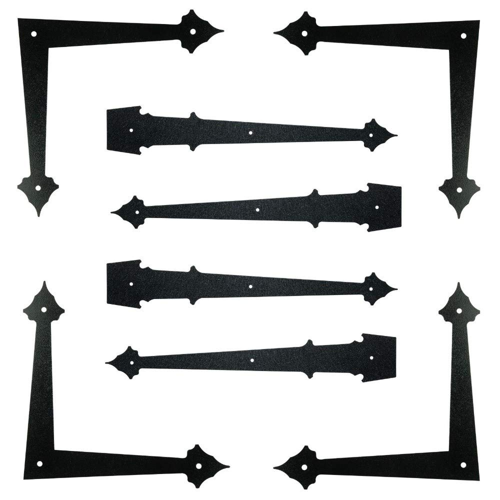 Garage Door Decorative Hinges