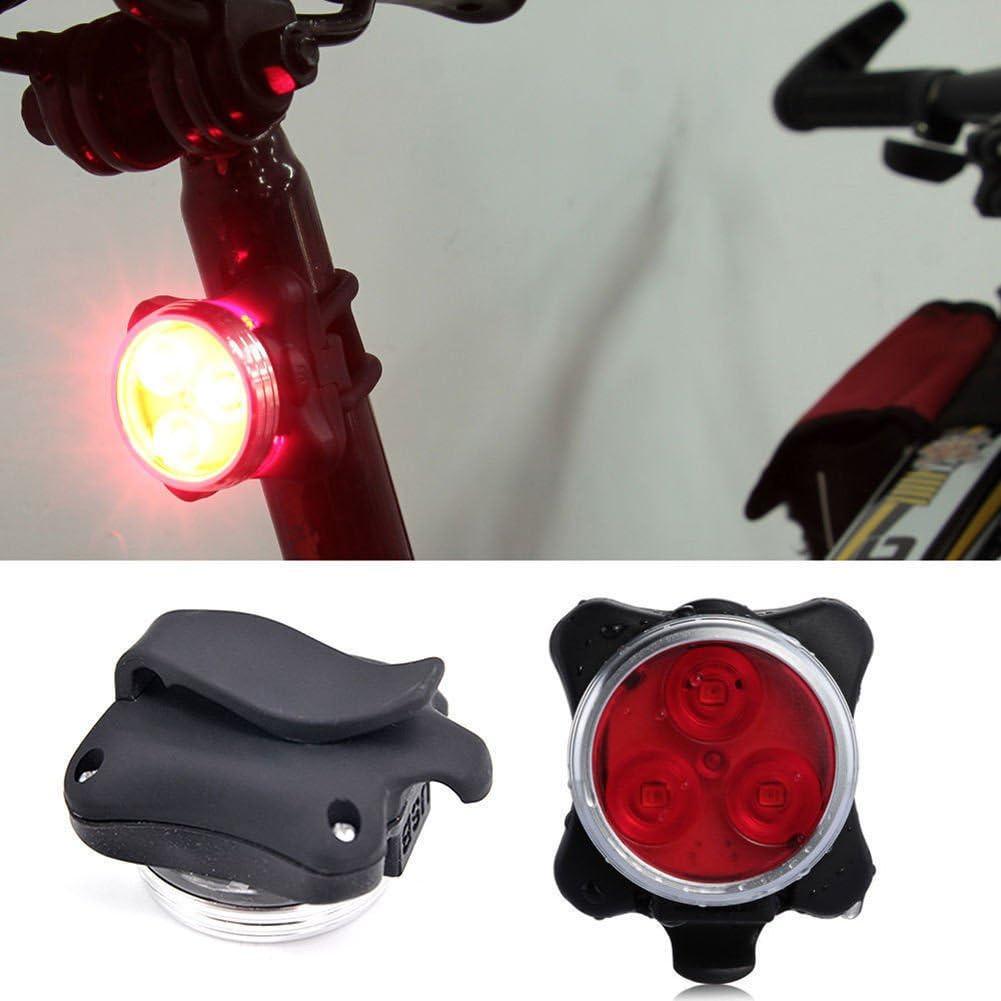 Fahrradbeleuchtung fahrradlichter Fahrradlampe Licht Clip Licht Lampe StVZO Zugelassen R/ücklicht,Fahrradlampe Fahrrad Taschenlampe wasserdicht Bloodfin LED Fahrradlicht Set